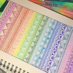 Ahora a color❤ Todo vale la pena si te hace reir Síganme mandando frases Doodle Art Drawing, Zentangle Drawings, Mandala Drawing, Pencil Art Drawings, Art Sketches, Zentangles, Mandala Doodle, Mandala Artwork, Mandala Painting