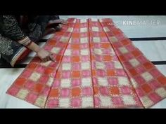how to make beautiful neck design gown 💖💖 cutting & stitching step by step in hindi Blouse Back Neck Designs, Blouse Designs, Circle Skirt Tutorial, Kids Lehenga, Anarkali Lehenga, Pola Rok, Stitching Dresses, Kurta Neck Design, Skirt Patterns Sewing