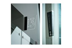 Outdoor glass panel signage design for Albany Entertainment Centre, Western Australia by Dessein, Australia.