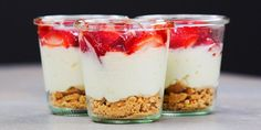 This No-Bake Cheesecake in a Jar Is the Lazy-Girl Dessert of Your Dreams