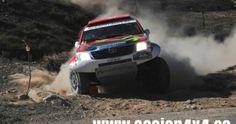 La primera prueba del Campeonato de España de rallyes TT disputada en las Tierras Altas de Lorca, ha tenido como vencedores indiscutibles a los portugueses Romulo Branco y Joao Serodio, que han volado con su Toyota Hilux por tierras murcianas.