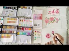 Learn how to watercolor with quick and easy tips! This week, Esther Peck brings her expertise to show you how you can start watercoloring!
