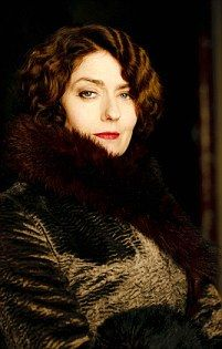 Downton Abbey S5 costume- Lady Anstruther played by Anna Chancellor