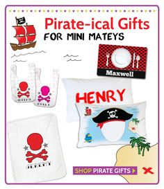 Cool Pirate Presents for Babies and Kids