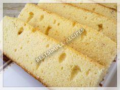 Best Simple Recipes: Vanilla Sponge Cake
