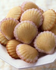 """See the """"Rose-Water Madeleines"""" in our Bridal Shower Tea Party Ideas gallery"""