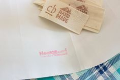 craftyblossom: fabric labels :: a tutorial