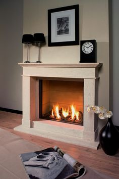 Hearth Mounted Cassette Gas Fires 1 in London Essex Hertfordshire Fireplace Frame, Home Fireplace, Living Room With Fireplace, Fireplace Surrounds, Fireplace Design, Living Room Grey, Gas Fires And Surrounds, Fireplaces, Glass Fronted Gas Fire