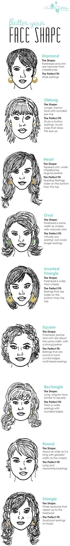 Superb How to choose perfect earrings for your face  The post  How to choose perfect earrings for your face…  appeared first on  Hairstyles 2017-2018 .