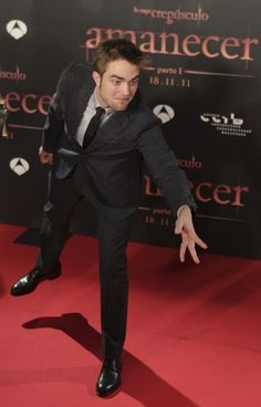 Rob Pattinson from the Barcelona premiere of 'Breaking Dawn' 2011