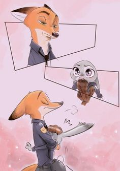"""rem289: """"aoimotion: """" """"Nick—"""" """"Silence, Carrots."""" Nick gently put a paw over the mouth. """"I'm not done yet."""" He took a deep breath, then said: """"Judy, there's something I want to tell you."""" He paused..."""