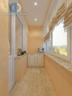 Балкон в стиле дизайна по адресу Юрловский проезд, д.21 фото