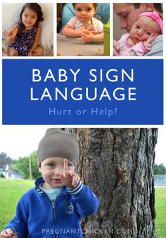Baby Sign Language – can teaching it to your child delay speech? Nope. And here's why. #ASL