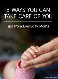 You are the only one who can give your child a happy parent who enjoys life. *great list of suggestions