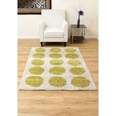 Found it at Wayfair.co.uk - Abacus Fluorescent Green Area Rug