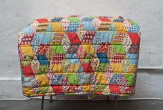 Vintage Patchwork Blanket/ Sleeping Bag by whiskyginger, $35.00