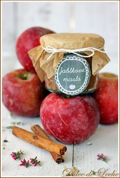 "Dulce de Leche: Jablkové maslo ""Apple Butter"" + darovačka ""Giveaway"""