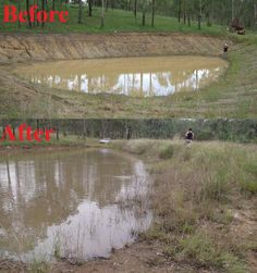 Melissa & Corey had a leaking dam. Take a look below at before our Water$ave product was applied & the results after.They didn't have to drain the water & did it all themselves.   Head to our website for more information on how to stop your leaking dam with Water$ave Plug or Seepage:   https://www.polymerinnovations.com.au/product/watersave/plug-range/  #leaking #dam #pond #agriculture #water #WaterSavePlug #WaterSaveSeepage