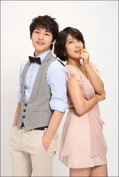 Song Joong Ki with Park Shin Hye