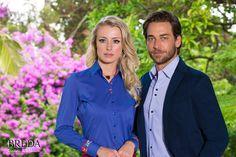 Breda Donna e Angelo Bertoni Elegância e Sofisticação  http://www.bredaalfaiataria.com.br  Estilo / Camisaria / Homem / Mulher / Design / Moda / Alfaiataria / Workwear