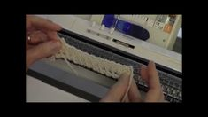 Diana Sullivan teaches two easy, attractive and unusual diagonal trims to edge your knitted items.