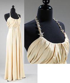 Silk evening dress, 1938, Madeleine Vionnet