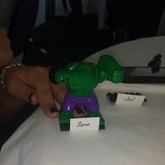 Hulk does not like this! #hulk #wedding #brother #bestman #lego #love