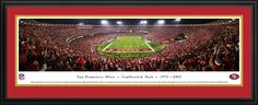 San Francisco 49ers Panoramic - Candlestick Park Panoramic $199.95