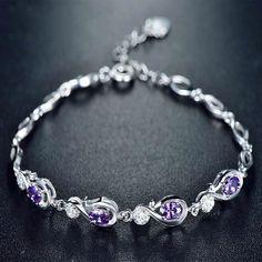 Geoki 925 Sterling Silver English Alphabet Beads Fit Pandora Bracelet Original S925 Cute Cz Letter Beads Necklace Pendant Gift Beads & Jewelry Making