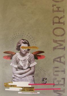 "Artist: Teresa Cucala; Assemblage / Collage, 2011, Mixed Media ""Metamorfosis"""