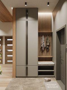 Home Room Design, Home Interior Design, Living Room Designs, Wardrobe Door Designs, Wardrobe Design Bedroom, Home Entrance Decor, House Entrance, Hallway Furniture, Home Decor Furniture