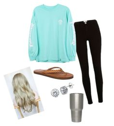 """""""Finals outfit"""" by madisonbrown904 on Polyvore featuring River Island, HUF, Rainbow and BERRICLE"""