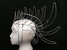 Samba Majestic Mohawk Headdress Wire Frame Design  by geckomeister