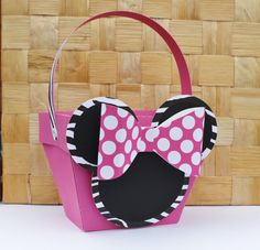 Minnie Mouse Zebra  Favor Box  Treat Box  by PaperletteDesigns, $48.00
