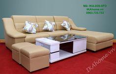Địa chỉ bán mẫu sofa da đẹp IKA-039-SFD tại Hà Nội - IKA Home