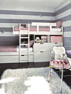 Deciding to Buy a Loft Space Bed (Bunk Beds). – Bunk Beds for Kids Girl Room, Girls Bedroom, Bedroom Loft, Bedroom Ideas, Cama Murphy Ikea, Dispositions Chambre, Modern Bunk Beds, Bunk Beds With Stairs, Loft Beds