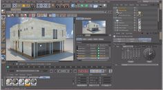 Make a photorealistic rendering using ArchiCAD model Cinema with VRay rendering Engine. Cinema 4d Tutorial, 3d Tutorial, Cinema 4d Render, 3d Photoshop, Rendering Engine, Unreal Engine, 3d Modeling, Motion Design, Cgi
