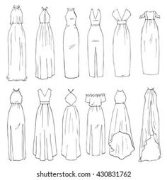 Fashion Design Sketchbook, Fashion Illustration Sketches, Fashion Design Drawings, Fashion Sketches, Fashion Drawing Tutorial, Fashion Figure Drawing, Fashion Drawing Dresses, Drawing Fashion, Art Drawings Beautiful