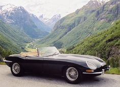 Jaguar e-type—Probably the most beautiful car ever made.