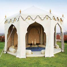 The Maharani Garden Tent - Indian Jaipur Tents : Indian Garden Company