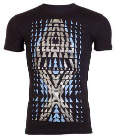ARMANI EXCHANGE Mens T-Shirt Slim Fit BIG AX LOGO Casual Designer M-XL $48 NWT #AXArmaniExchange #GraphicTee