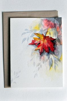 Image result for poinsettia watercolor christmasscard