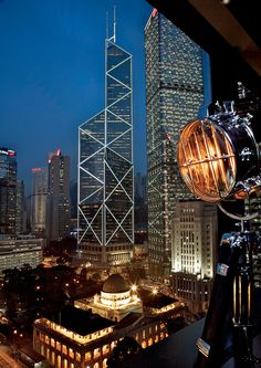 """The area of """"Central"""", in Hong Kong, is home to some of the world's most architecturally-inspiring skyscrapers."""