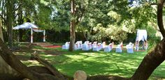 We can accommodate up to 250 people. Our gardens is the perfect place for your function