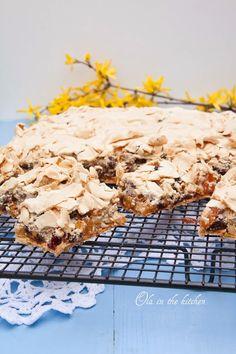 Ola in the Kitchen: Mazurek bakaliowy na waflu Cooking Recipes, Polish, Baking, Breakfast, Cake, Kitchen, Food, Morning Coffee, Vitreous Enamel