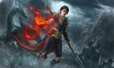 Dragon Age Hawke Fan Art by creative-horizon.deviantart.com on @deviantART