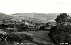 Dorset, Chideock in the late 1930's - including rolling countryside.jpg (1130×726)