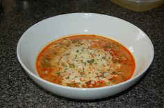 Lucy's Diabetic Friendly Low Carb Meals: Chicken Enchilada Soup