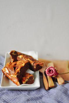 Cheesecake Recipe : Cheesecake & Salted Caramel Brownies