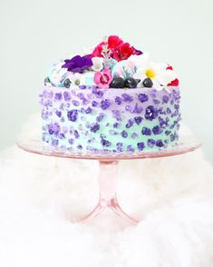 rock candy cake {{ @